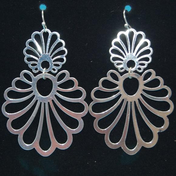 Avon Jewelry - Silver Earrings